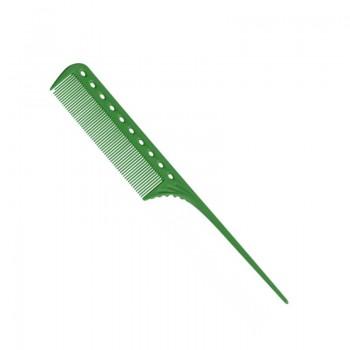 Парикмахерская расческа Y.S.Park YS-111-10 зеленая