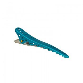 Парикмахерские зажимы для волос Y.S.Park Shark Clip YS-09*2 (2 шт.) синий металлик