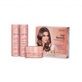 Набор для домашнего восстановления волос Cadiveu Hair Remedy Home Care professional (Шампунь, кондиционер, маска)