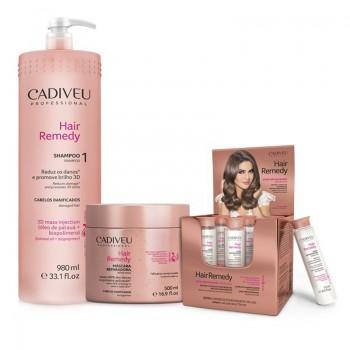 Набор для проведения процедуры нано-реконструкции волос Cadiveu Hair Remedy