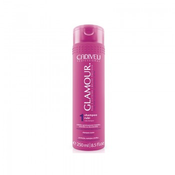 Рубиновый шампунь Glamour Ruby Shampoo CADIVEU 250 мл