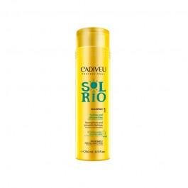 Безсульфатный укрепляющий шампунь для домашнего ухода Sol do Rio CADIVEU 250 мл