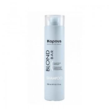 Освежающий шампунь для волос оттенков блонд, 300 мл
