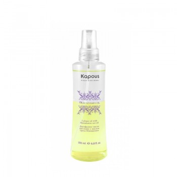 Двухфазное масло для волос с маслом ореха макадамии, 200 мл