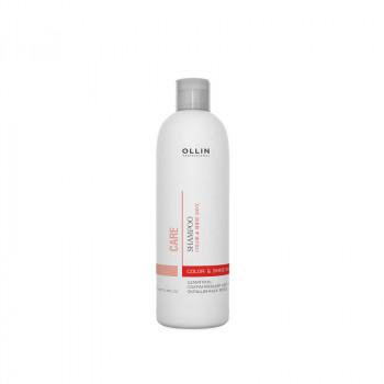 Ollin care Шампунь сохраняющий цвет и блеск окрашенных волос 250мл