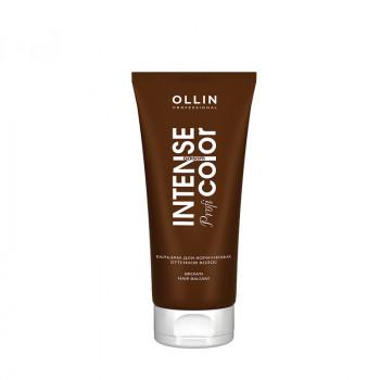 Ollin intense profi color бальзам для коричневых оттенков волос 200мл