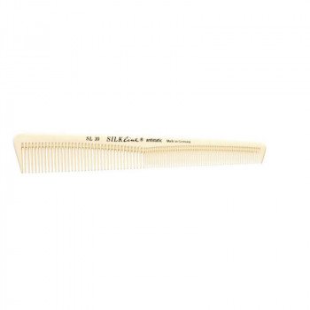 Расчёска силиконовая для стрижки комбинированная скошенная SL10
