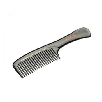 Расчёска каучуковая с ручкой с редкими зубчиками, 18,2 см