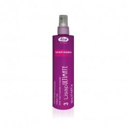 "Кератиновый разглаживающий термозащищающий флюид для волос ""3 - Lisap Ultimate Straight Fluid"", 250 мл."
