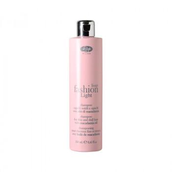Экстра мягкий очищающий шампунь для тонких и ослабленных волос «Lisap Fashion Light Shampoo», 250 мл.
