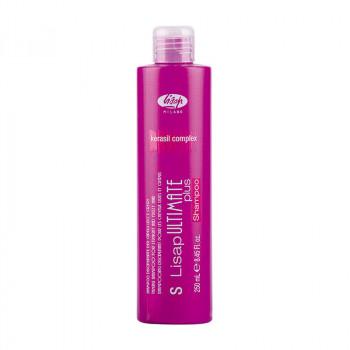 Шампунь с разглаживающим действием «S-Lisap Ultimate Plus Taming Shampoo For Straight and Curly Hair», 250 мл.