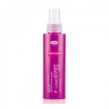 Термо-спрей для укладки волос с эффектом выпрямления «P-Lisap Ultimate Plus Straight Fluid», 125 мл.
