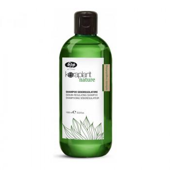 Себорегулирующий шампунь - Keraplant Nature Sebum-Regulating Shampoo, 1000 мл.