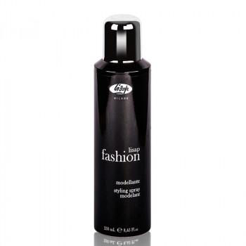Моделирующий лак сильной фиксации для укладки волос «Lisap Fashion Styling Spray», 250 мл.