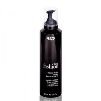 Мусс для укладки волос средней фиксации «Lisap Fashion Mousse Design Regular», 250 мл.