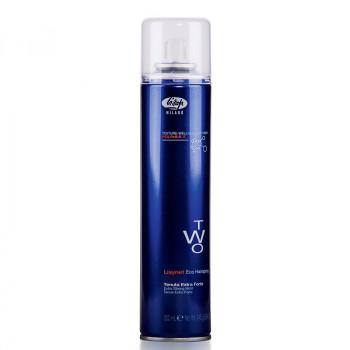 Лак для укладки волос без газа экстра-сильной фиксации «Lisynet Two Eco Extra Strong Hold», 300 мл.