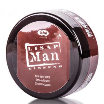 Матирующий воск для укладки волос для мужчин «Lisap Man Semi-Matte Wax», 100 мл.