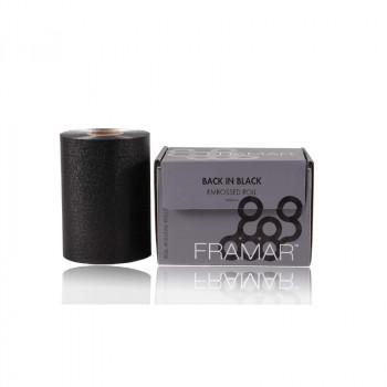 Фольга в рулоне с тиснением «Во власти черного» (98 м) Framar