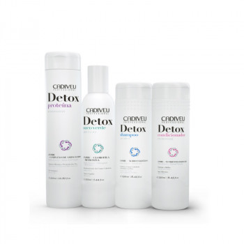 DETOX: Набор для пилинга кожи головы