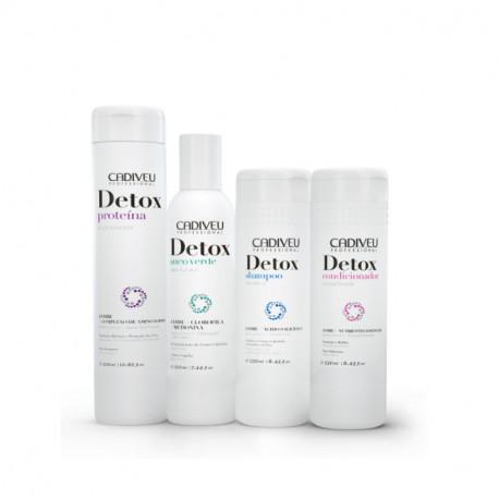 DETOX: Набор для пилинга кожи