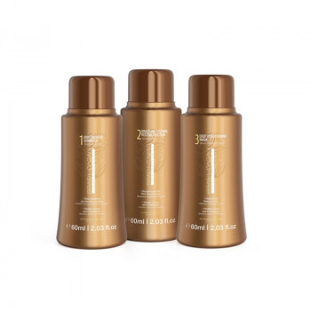 Набор для восстановления волос: BRASIL CACAU PROFESSIONAL 60 ML