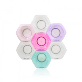 Connect & Color Bowls Rainbow Соединяющиеся цветные миски для окрашивания (7 шт в наборе)