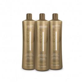 Brasil Cacau Professional: Набор для кератинового выпрямления волос 1л