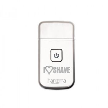 Компактный шейвер harizma I Love Shave для стрижки и бритья