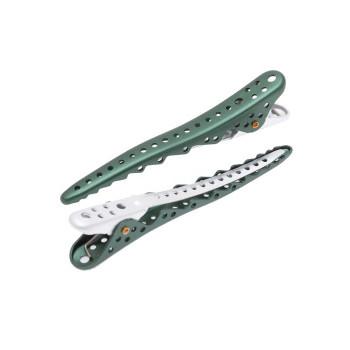 Зажимы Y.S.Park Shark Clip YS-10*08 (8 шт.) зеленые