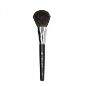 Кисть макияжная профессиональная KET PROFESSIONAL №2b для пудры, сухой коррекции и румян, белка