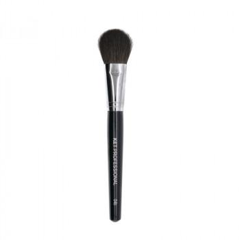Кисть макияжная профессиональная KET PROFESSIONAL № 4b для пудры, сухой коррекции и румян, белка