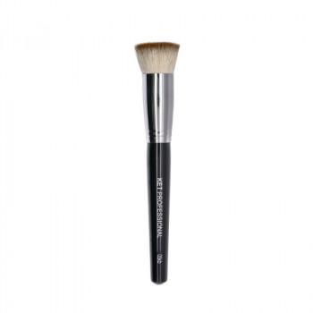 Кисть макияжная профессиональная KET PROFESSIONAL №5 Kabuki d.22 для румян и пудры,коза