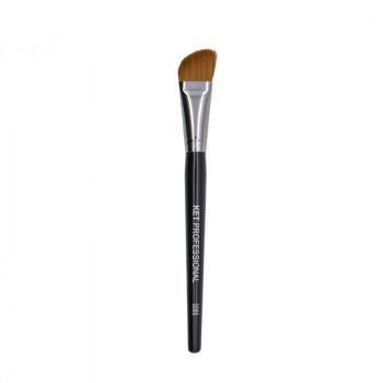 Кисть макияжная профессиональная KET PROFESSIONAL № s8s для тона и коррекции,соболь