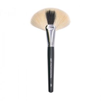 Кисть макияжная профессиональная KET PROFESSIONAL № 40 большая веерная кисть, коза высший сорт