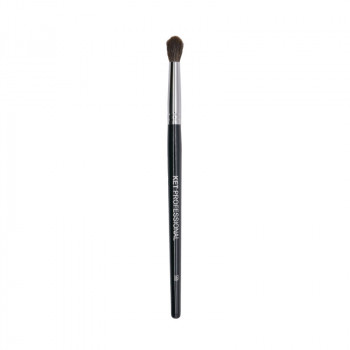 Кисть макияжная профессиональная KET PROFESSIONAL №56b d.6 для растушевки теней, круглая белка