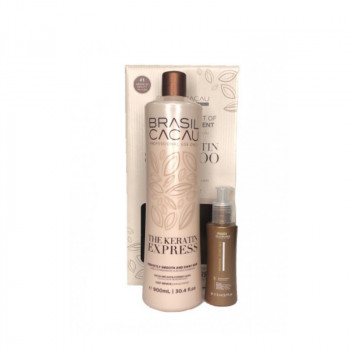 Brasil cacau The Keratin Express 900 ml и Primer 110 ml
