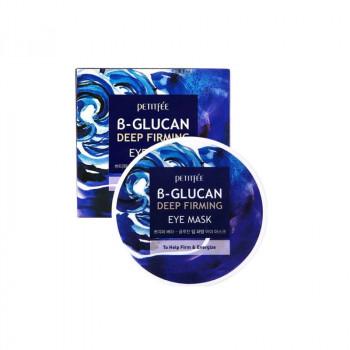 Petitfee Патчи для глаз с бета-глюканом B-Glucan Deep Firming Eye Mask