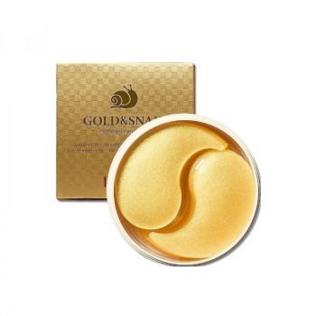 Гидрогелевые патчи от морщин вокруг глаз с золотом и муцином улитки Gold & Snail Hydrogel Eye Patch