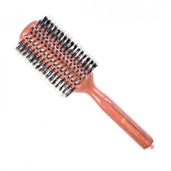 Брашинг Hairway Style на деревянной основе с натуральной щетиной, 38мм