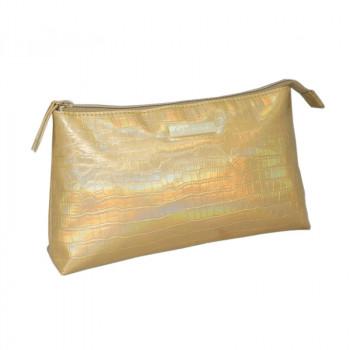 Косметичка Hairway Gold 26х6х15 см