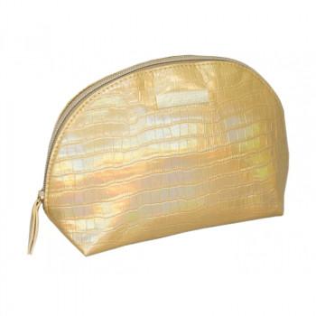 Косметичка Hairway Gold 21х8х15 см