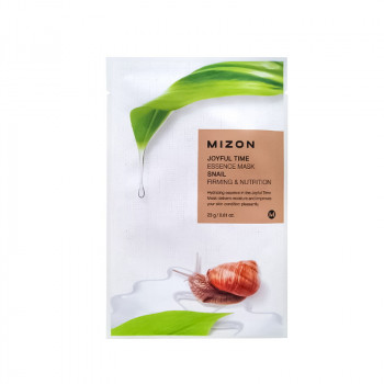 Тканевая маска для лица с экстрактом улиточного муцина MIZON Joyful Time Essence Mask Snail 23 гр.