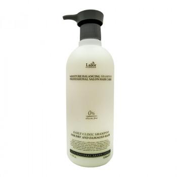 Увлажняющий бессиликоновый шампунь La'dor Moisture Balancing Shampoo 530ml 530 гр.