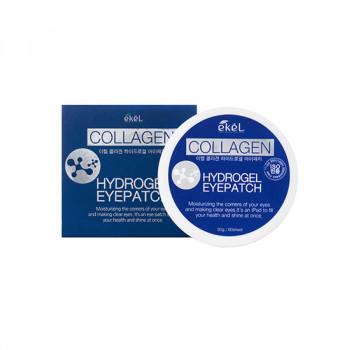 Гидрогелевые патчи под глаза с коллагеном EKEL Hydrogel Eye Patch Collagen 60 гр.