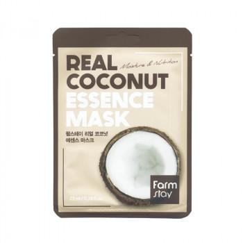 Маска для лица тканевая с экстрактом кокоса FarmStay Real Coconut Essence Mask 23 гр.