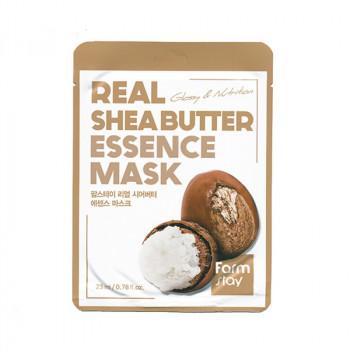 Тканевая маска для лица с маслом ши FarmStay Real Shea Butter Essence Mask 23 гр.