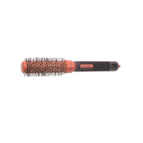 """Термобрашинг DEWAL серия """"COLOR""""керамическое покрытие,нейлоновая щетина, меняет цвет, красный 25/41 мм"""