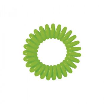 """Резинки для волос """"Пружинка"""" цвет зеленый (3 шт) DEWAL BEAUTY"""