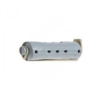 Коклюшки 15 мм короткие серо-черные, 12 штук в упаковке серый, черный