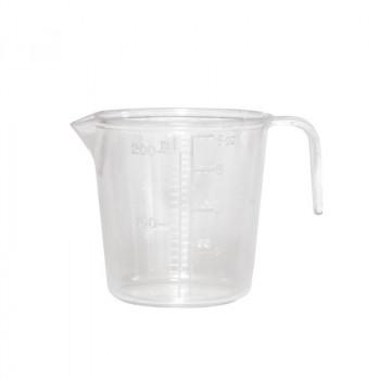 Мерный стаканчик на 200 мл с ручкой белый